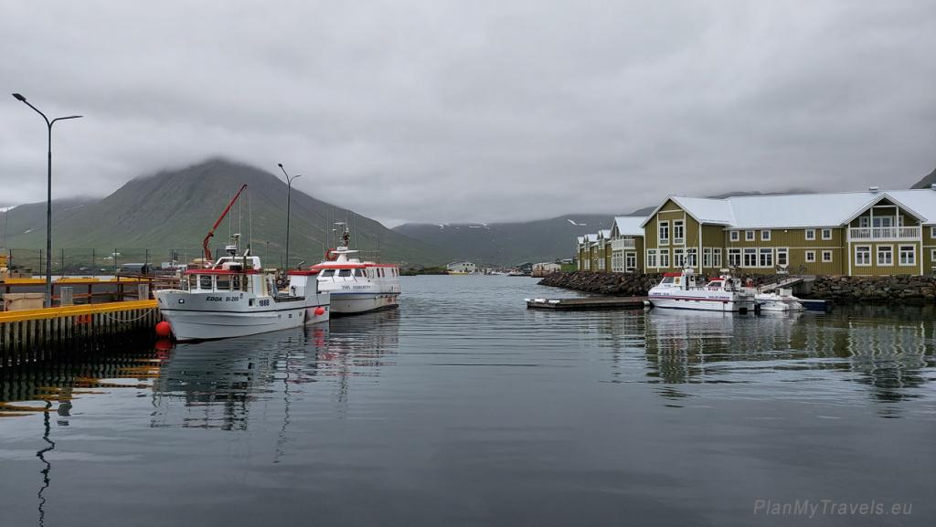 Półwysep Trolli północna Islandia, Siglufjörður potocznie nazywane Siglo