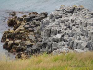 Islandia Północna bazaltowe klify w Hofsos