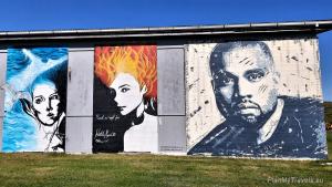 """Islandia, Hellissandur """"islandzka stolica sztuki ulicznej"""""""