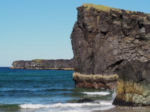 Islandia, Plaża w Skardsvik