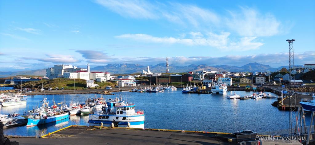 Zachodnia Islandia, półwysep Snaefellsnes, Stykkisholmur