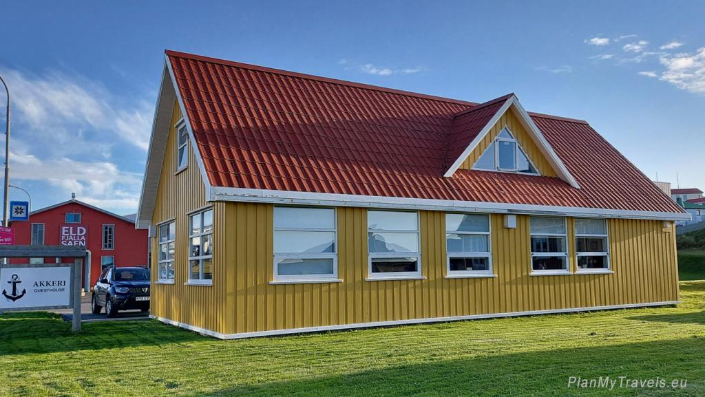Islandia, Stykkisholmur, Akkeri Guesthouse