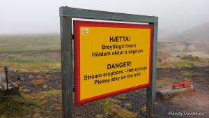 Iceland, Geothermal area Krýsuvík