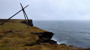 Reykjanes Peninsula, South West Iceland,Krysuvikurberg Cliffs