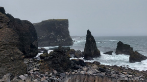 Reykjanes Peninsula, Valahnúkamöl Cliffs