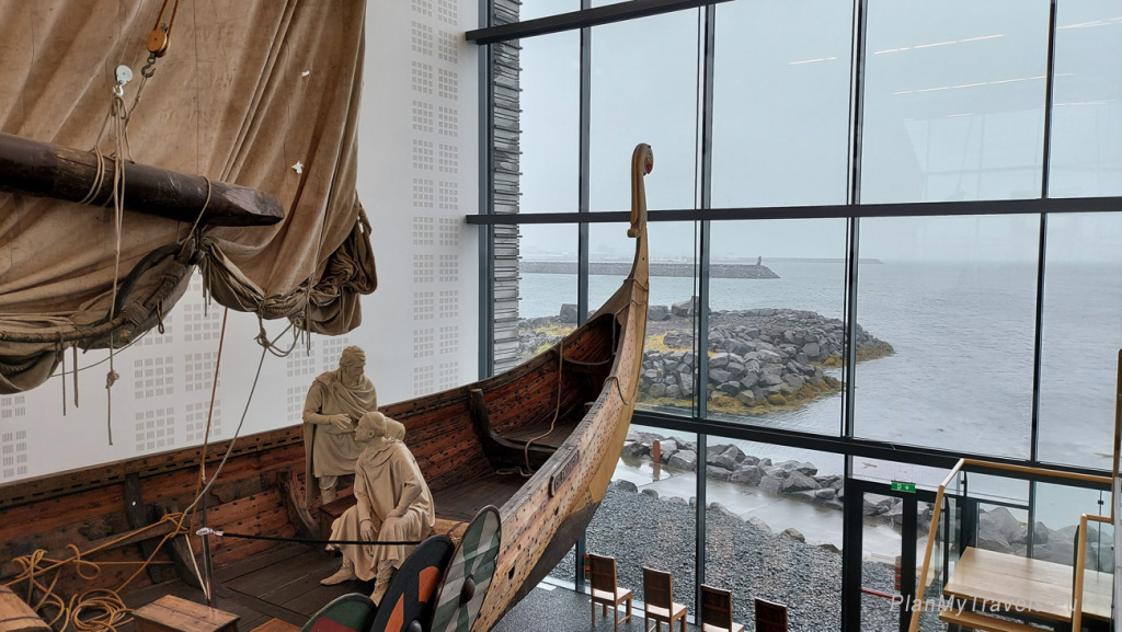 Iceland, Keflavik, Viking World Museum, Íslendingur