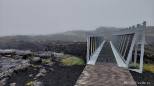 Reykjanes Peninsula, breach beetwen continents