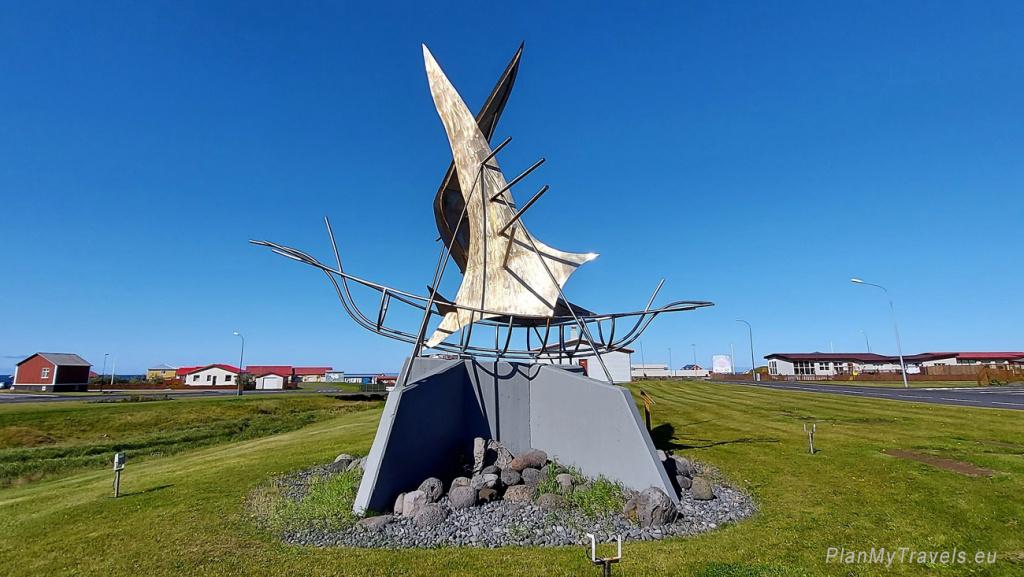 "Iceland, Hellissandur, ""The Ship"" by Jon Gunnar Arnason"