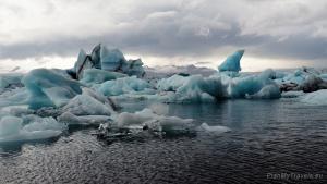 The South Coast of Iceland, Jökulsárlón glacier lagoon