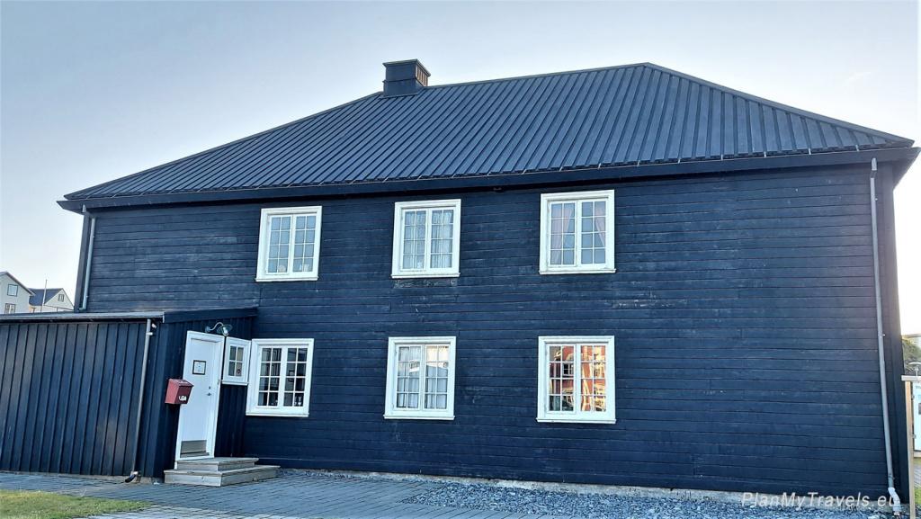 Iceland, Stykkisholmur, Norwegian House