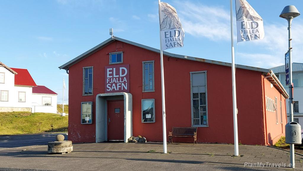 Iceland, Stykkisholmur, Museum of Volcanology
