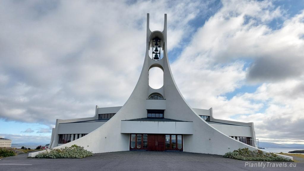 Iceland, Stykkisholmur, church, Stykkisholmkirkja