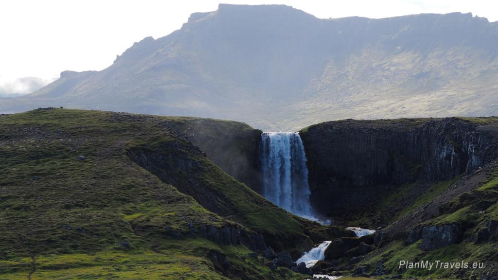 Snaefellsnes Peninsula, Svodufoss Waterfall