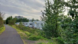 Campsite in Egilsstadir