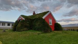 Iceland, Lindarbakki Turf House