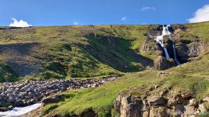 Iceland, Rjukandi waterfall