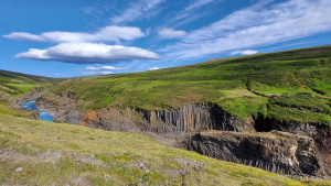 Iceland, Studlagil Canyon